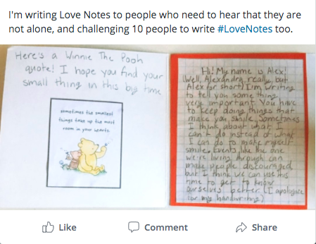 Love Note Social Post