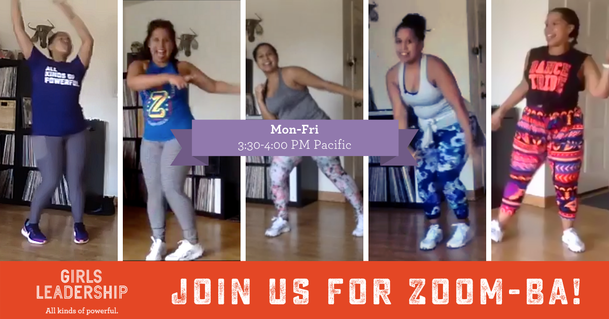 Zoom-ba Girls Leadership Zumba