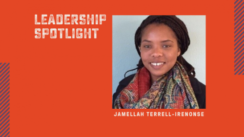 Leadership Spotlight Jamellah Terrell-Irenonse